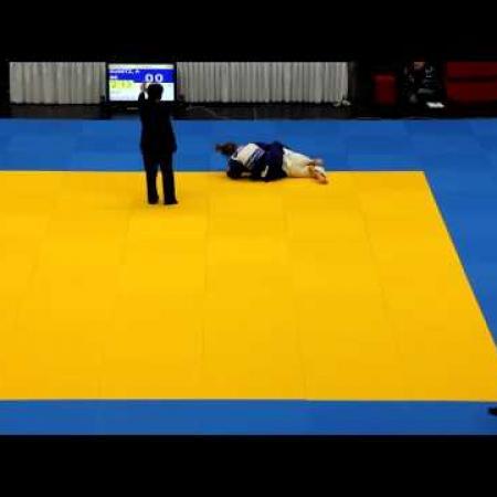 Judo: DEM 2012 Potsdam Frauen -48kg Andrea Kunitz  (1)